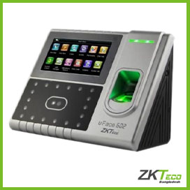 ZKTeco Multi-Biometric Time Attendance and Access Control Terminal (uface 602)